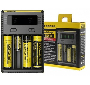 NITECORE I4 INTELLICHARGER UNIVERSAL BATTERY QUAD CHARGER