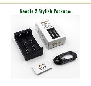 GOLISI NEEDLE 2 USB MINI CHARGER