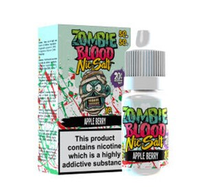 APPLE BERRY NIC SALT 10ML BY ZOMBIE BLOOD