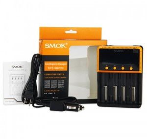 SMOK 4 BAY LCD INTELLIGENT BATTERY CHARGER