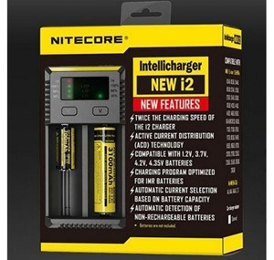 NITECORE I2 UNIVERSAL BATTERY CHARGER UK PLUG