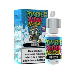 BLUE CRYSTAL NIC SALT 10ML BY ZOMBIE BLOOD