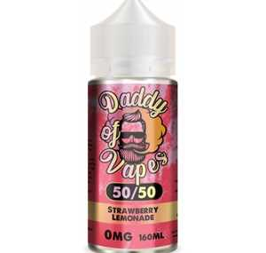 STRAWBERRY LEMONADE 200ML E LIQUID DADDY OF VAPES