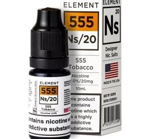 555 TOBACCO NIC SALT 10ML BY ELEMENT