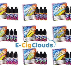 SCRIPTURE E-LIQUID 36 FLAVOURS  30ML (3 X 10ML)