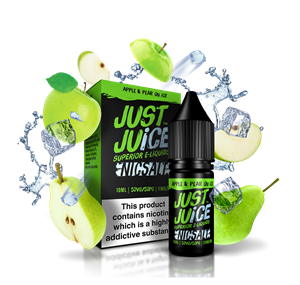 APPLE & PEAR ON ICE 10ML NIC SALT JUST JUICE