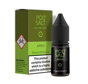 APPLE 10ML NIC SALT POD SALT